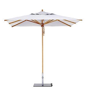 Wooden 8' Market Umbrella - Square