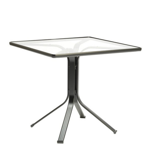 "Brown Jordan Quantum 32"" Square Pedestal Table"