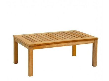 """Classic 38"""" Rect Coffee Table"""
