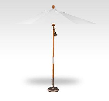 9' quad pulley market umbrella