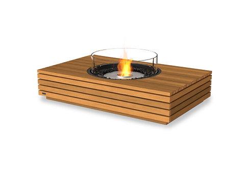 "Martini 50"" Teak Fire Table"