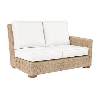 St. Barts Right Arm Sectional Settee