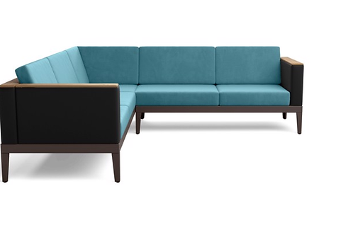 Barlow Tyrie Aura Deep Seating Modular 5 Cushion Sectional