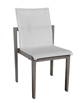 Athens Side chair white/ grey