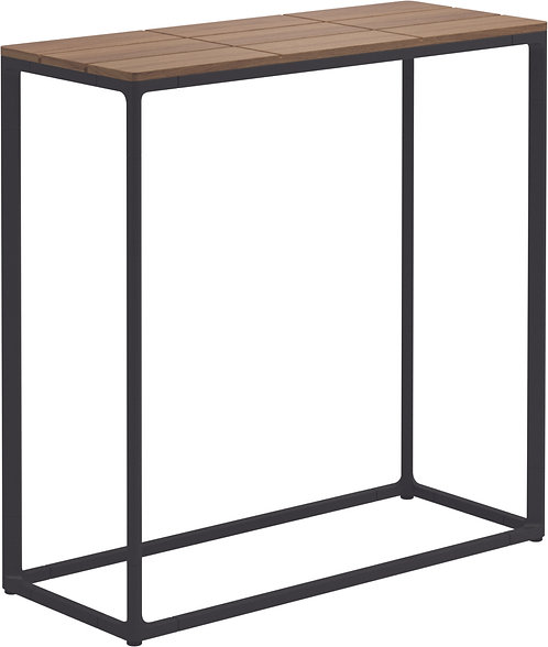 "Gloster Maya 30"" x 12"" High Console Table Teak"