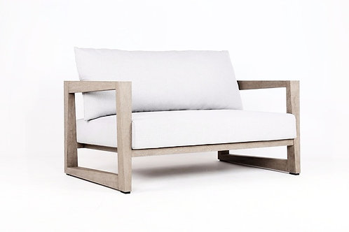 Athens Loveseat -weathered teak