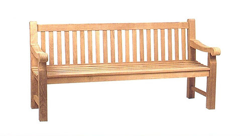 Traditional Park Bench XL