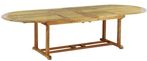 """Essex 114""""- 80"""" Oval Extending Table"""