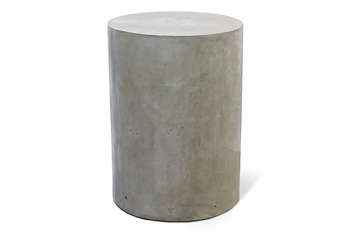 Concrete End Table Round