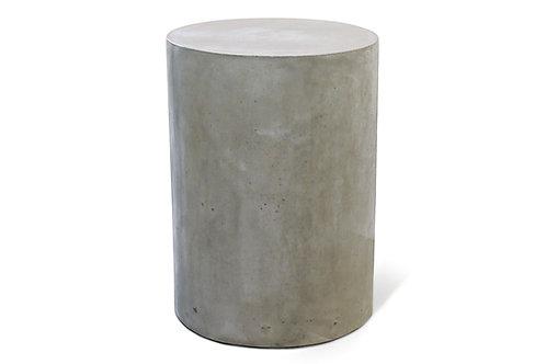 "Concrete End Table 15"" Round"