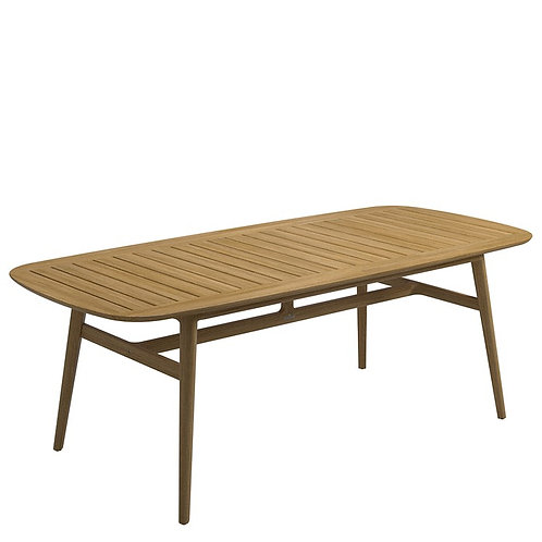 """Gloster Clipper 86"""" Rectangular Dining Table"""