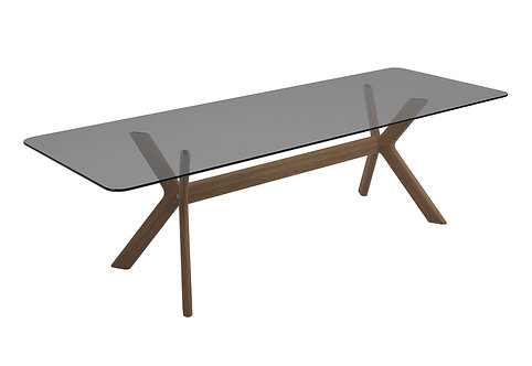 "X-Frame 110"" Dining Table"