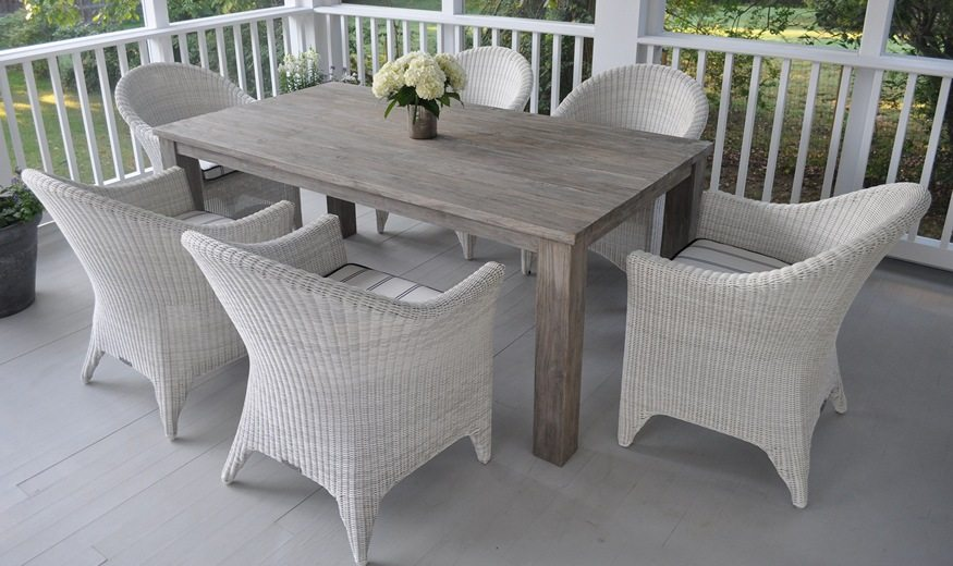 Bainbridge Cape Cod Dining Table and Dining Chairs