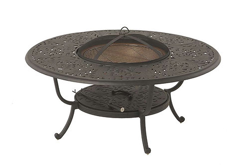 "48"" Rd Wood Burning Fire Pit Table"