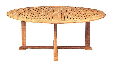 "Camden 72"" Round Dining Table"