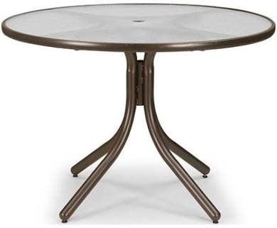 "Telescope Glass 42"" Table"