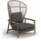 Thumbnail: Gloster Fern Lounge Chair High Back