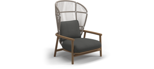 Gloster Fern Lounge Chair High Back