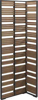 Teak L Shape Screen - Small