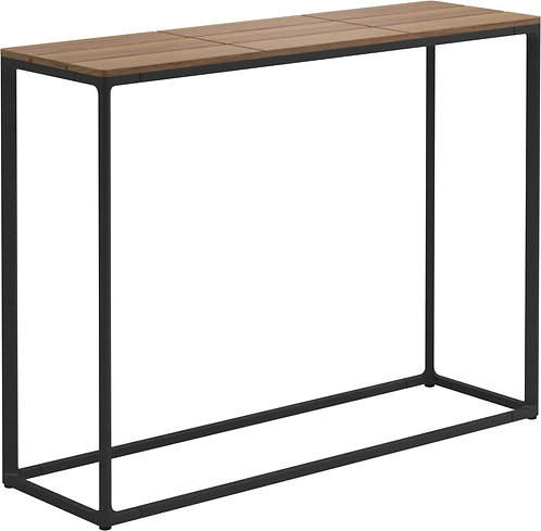 "Gloster Maya 40"" x 12"" High Console Table Teak"