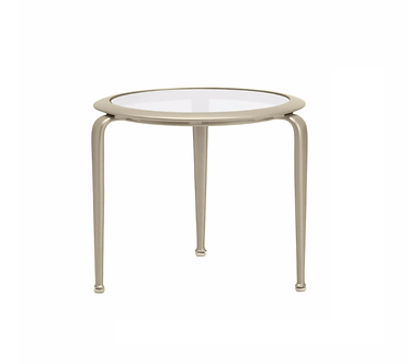 """Flight 23"""" Round End Table"""