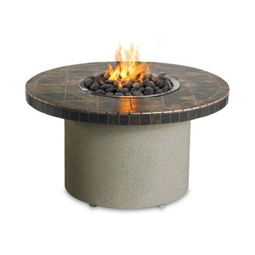 "Falcon 44"" Rd Fire Pit w/Ice Bucket"