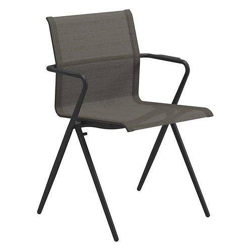 Gloster Ryder Dining Chair with Arms