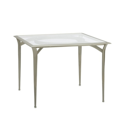 "Brown Jordan Flight 36"" aluminum top Dining Table"
