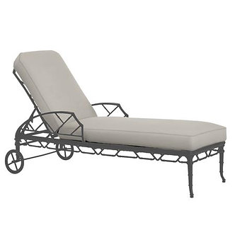 Calcutta Adjustable Chaise With Wheels