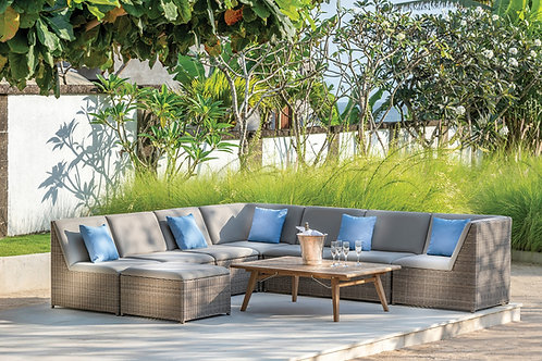 Milano 5 Cushion Sectional