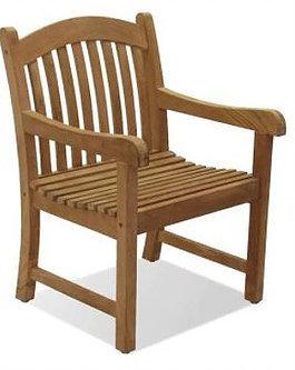 Gloster, Brown Jordan, Kingsley Bate, Barlow, Teak Dining Arm Chair