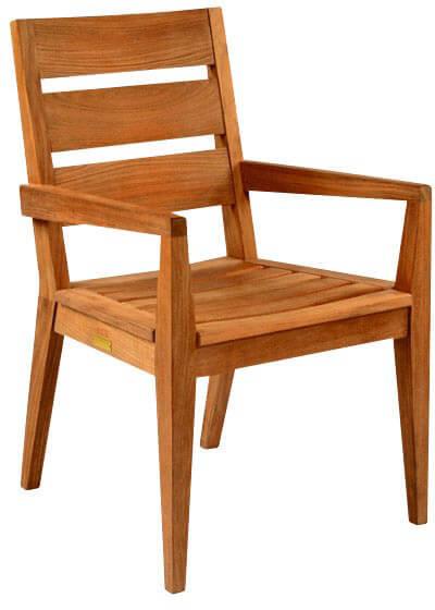 Kingsley Bate Algarve Dining Arm Chair