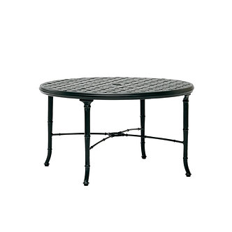 "Calcutta 36"" Round Cast Top Chat Table"