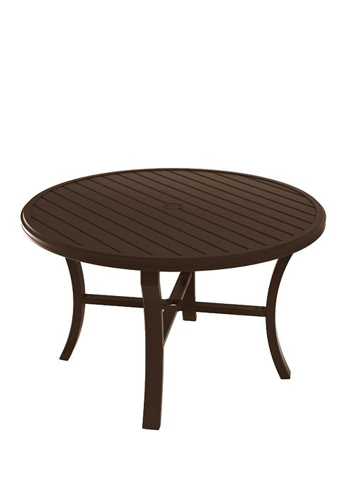 "Tropitone Banchetto 48"" Round Dining Table"