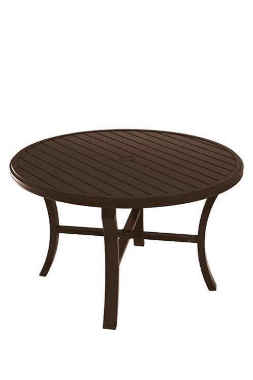 "Tropitone Banchetto 48"" Round Dining Table"