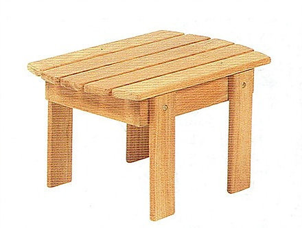 "Traditional 24"" Adirondack Side Table"