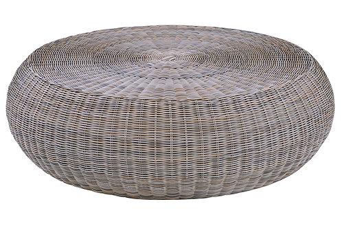 Kingsley Bate Ojai Round Coffee Table w/Glass
