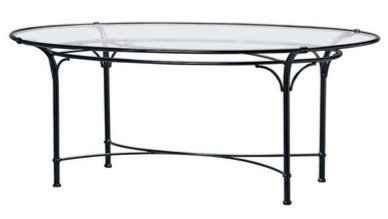 "Florentine 60"" Rd  Glass Dining Table"