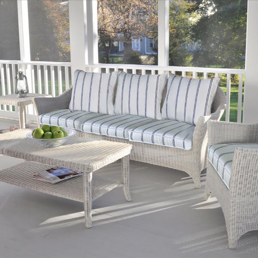 Bainbridge Cape Cod Sofa and Coffee Table