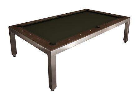 Stainless 7' Pool Table