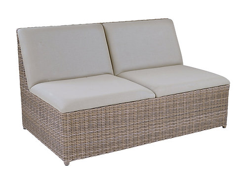 Kingsley Bate Milano Armless Settee for Sectional