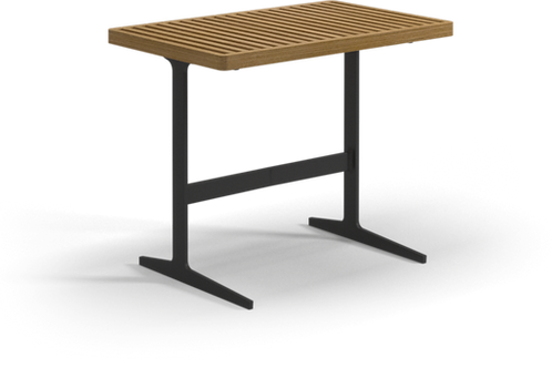 """Gloster Grid 31""""x 19"""" Rectangular Side Table"""