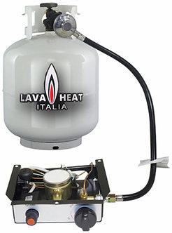 Lavaheat burner