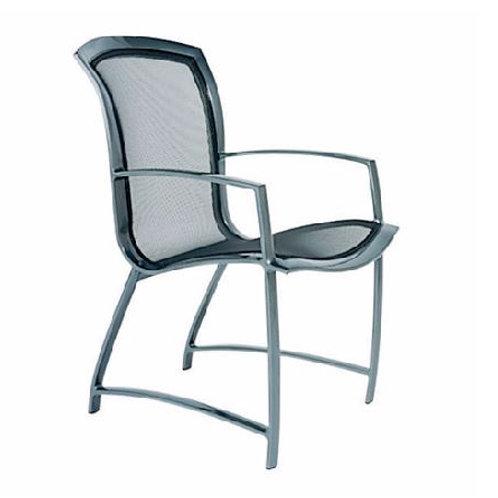 Brown Jordan Wave Arm Chair