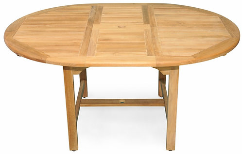 """Canterbury 75""""- 51"""" Oval Extension  Dining Table"""