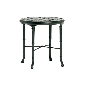"Calcutta 20"" Round Cast Top Occasional Table"