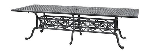 """Largo Grand 112"""" Rect Dining Table"""