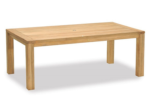 Gloster, Brown Jordan, Kingsley Bate, Barlow, Perfect Teak table to match wicker chairs to