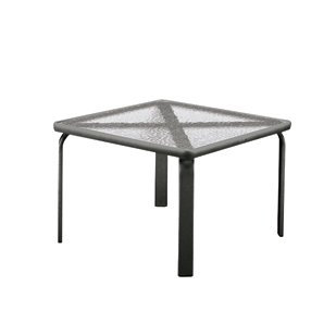 "Quantum 22"" Square Occasional Glass Table"