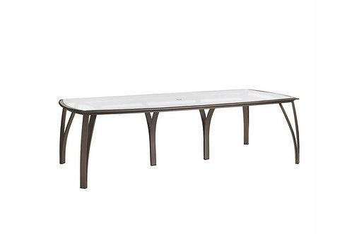"Brown Jordan Wave 103"" Dining Table"